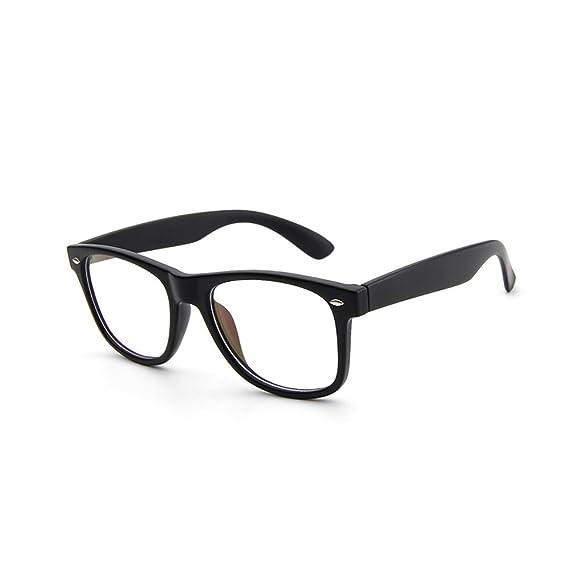 Monturas de gafas Wayfarer Retro Hombre y Mujeres Forepin® Unisex ...