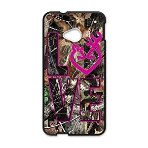 Autumn branch pink love Cell Phone Case for HTC One M7
