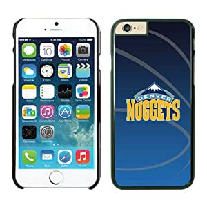 Unique iPhone 6 Case,Denver Nuggets Phone Case For iPhone 6 plus 5.5 Inch TPU Case 11 Black