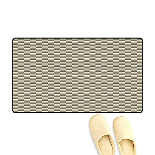 High Water Absorption Door mat White Green Texture Carbon Geometric Seamless Background Vector 24