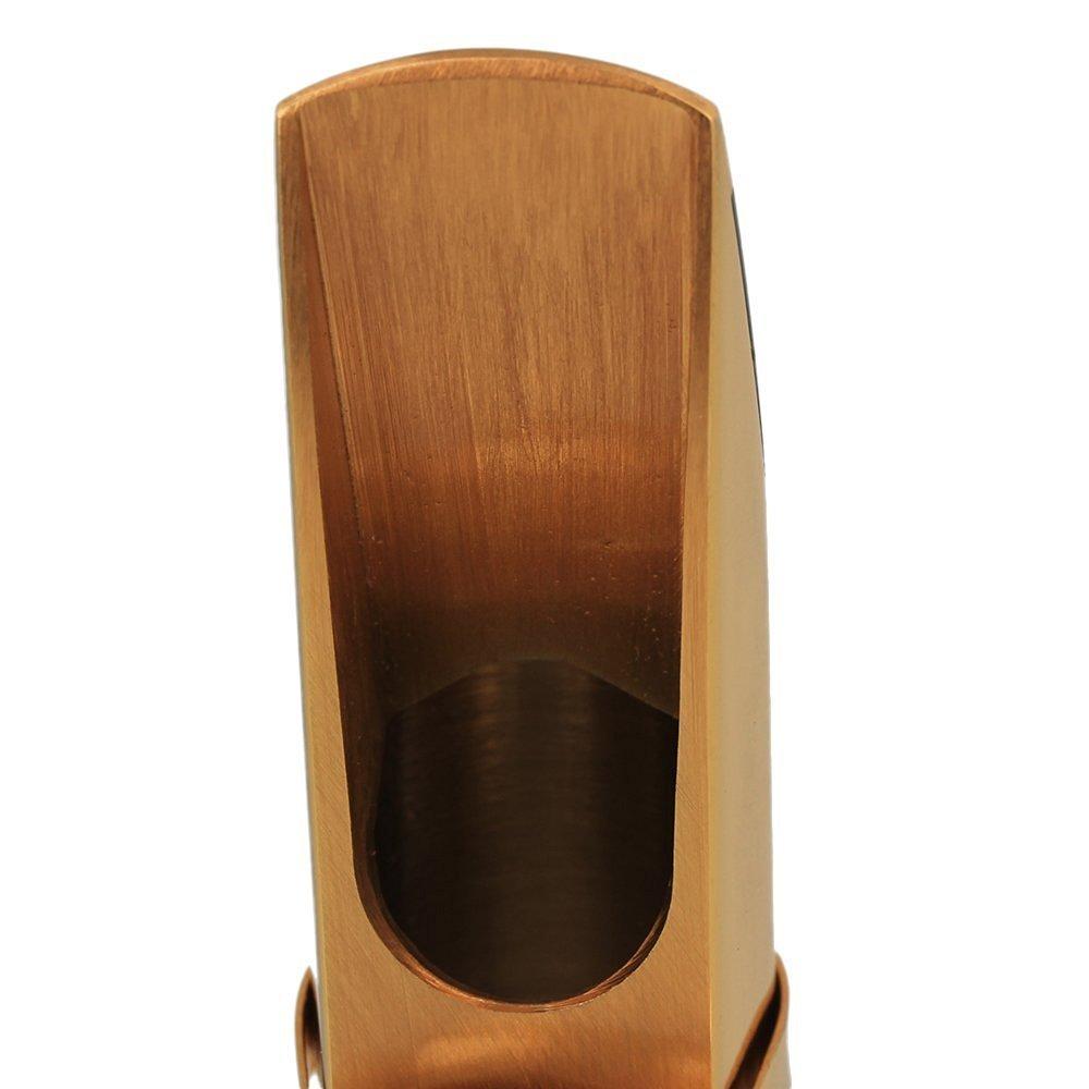 surfing 7/# placcato oro sassofono sax bocchino per sassofono tenore in Si bemolle