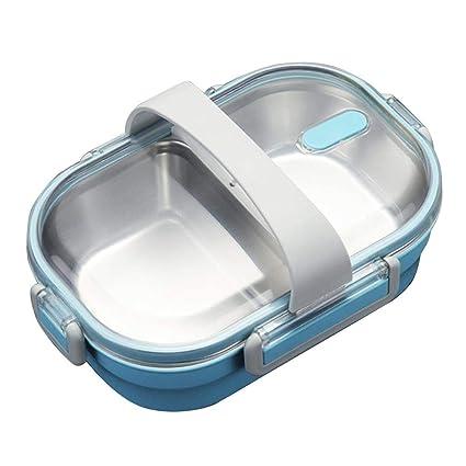 Boîte à repas portable en acier inoxydable 304 étanche pour la ...