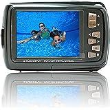 SVP Aqua 5500 Black 18 MP Dual Screen Waterproof Digital Camera