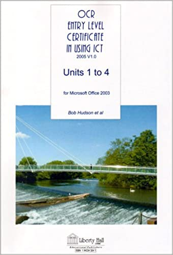 Book Ocr Entry Level Certificate in Using ICT Units 1 to 4