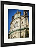 Ashley Framed Prints Oldest Street In The Capital Of Spain The City Of Madrid Its Architecture And, Wall Art Home Decoration, Color, 40x34 (frame size), Black Frame, AG5528179