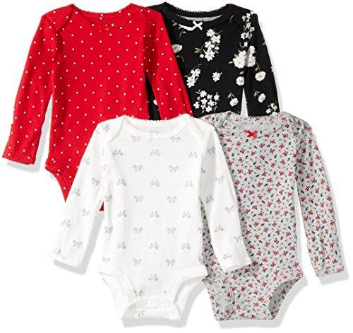 Carters Baby Girls Multi PK Bodysuits