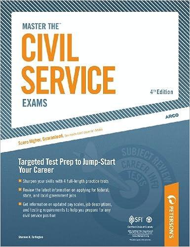Master The Civil Service Exams EBook Shannon R