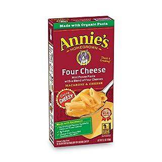 Annie's Four Cheese Macaroni and Cheese, 5.5 oz