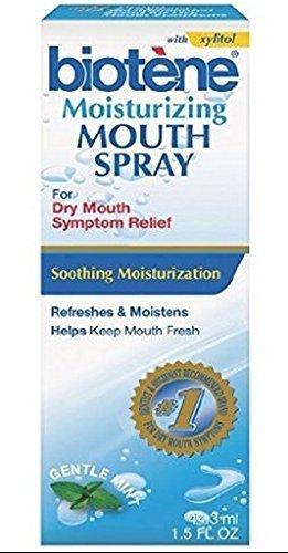 Biotene Moisturizing Spray, Gentle Mint, 1.5 fl oz by Bio...