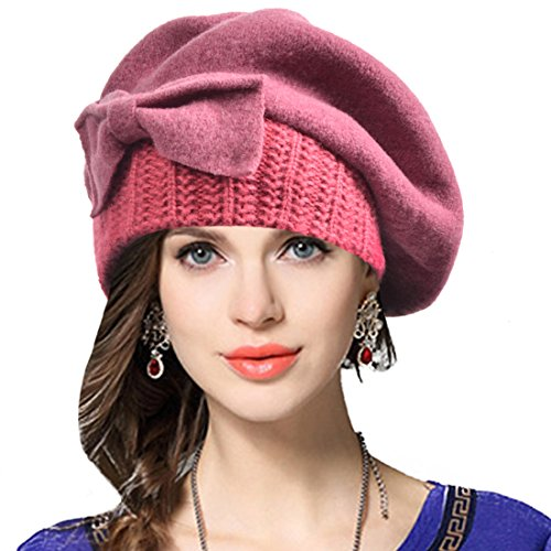 Pink 100% Wool - 8