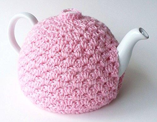 Pink Crochet Tea Pot Cozy