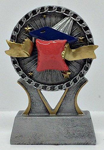 Cornhole / Corn Toss Award in Color - 4 1/2''