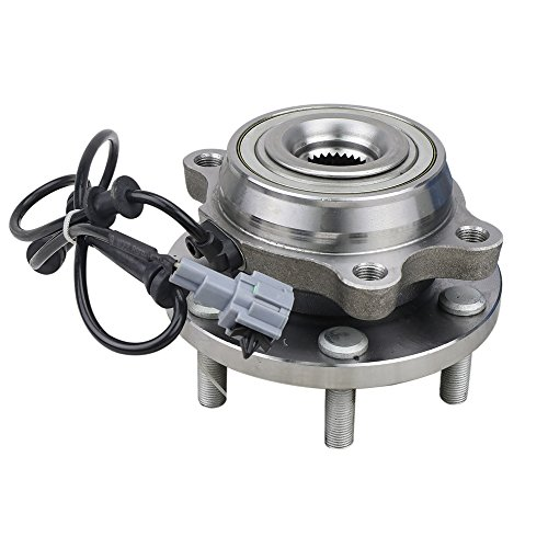 CRS NT515065 New Wheel Bearing Hub Assembly, Front Drivers (Left)/ Passenger (Right), For 2005-2015 Nissan Xterra, 2005-2012 Nissan Pathfinder, 2005-2016 Nissan Frontier, 2009-2012 Suzuki Equator
