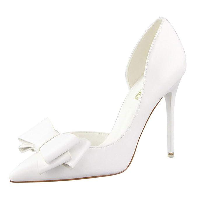 YBC Sandalias Zapatillas Zapatos de tacón Bombas para Mujer