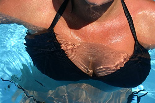8516f5f035449 Divine Triangle Plus Size Large Breast Bra Swim Insert Nude + Free Fashion  Tape
