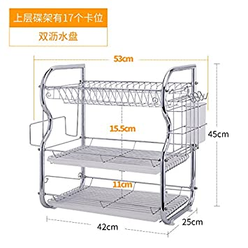 Dadao Hutch Drainboard Kuche Regal Tisch Gestell 3 Layer Rack