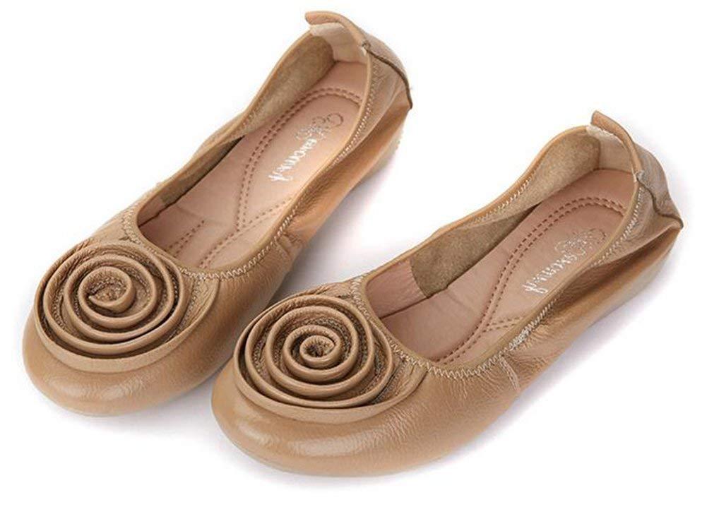 Fuxitoggo Flache Arbeiten Schuhe,Aprikosen,36 (Farbe     Wie Gezeigt Größe   Einheitsgröße) 30192b
