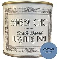 Shabby Chic tiza pintura para muebles, Cottage azul