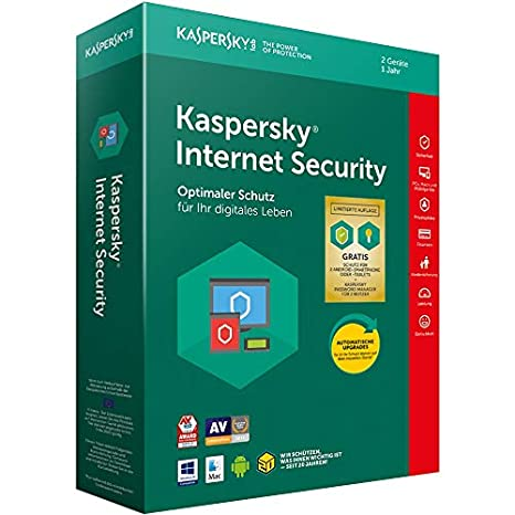 Kaspersky Internet Security Standard   2 Geräte   1 Jahr   Limited: + 2 Android-Schutz + 2 Password Manager   Windows/Mac/And