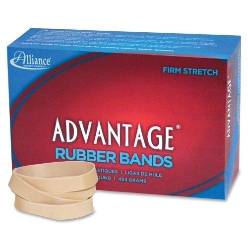 Wholesale CASE of 25 - Alliance Advantage Rubber Bands-Rubber Bands, Size 84, 1 lb., 3-1/2''x1/2'', Approx. 150/BX