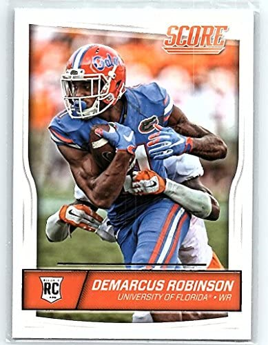 2016 Score Rookies #372 Demarcus Robinson NM-MT RC Rookie