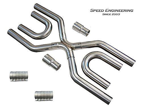stainless steel exhaust pipe kit - 5