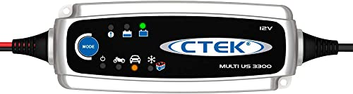 CTEK Battery Charger works with most batteries including the ones found in vehicles, motorcycles, ATV's, RV's, boats, lawnmowers, and tractors.