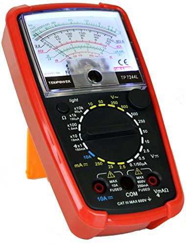 Tekpower TP7244L 7-Function 20-Range Analog Multimeter With Back Light with Strong Protective Holster by Tekpower (Image #2)
