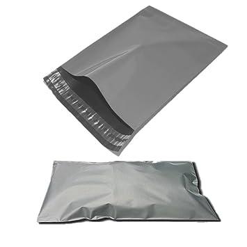 10 x 14 FREE Postage 200 Grey Poly Postal Mailing Bags 250 x 350mm