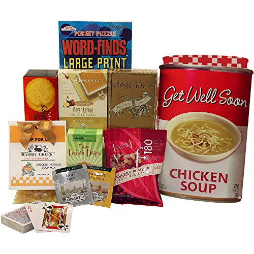 Get Well Soon Chicken Soup Gift Bag Tote (Soup Gift Basket Ideas)