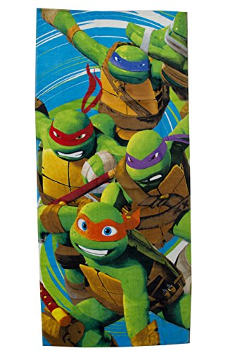 Nickelodeon Teenage Mutant Ninja Turtles Jump Cotton Pool/Beach/Bath Towel]()