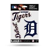 Detroit Tigers Triple Sticker Multi Decal Spirit Sheet Auto Home Baseball