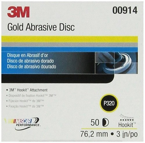 3M 3' 320 HOOKIT GOLD FILM 0914 P320 Hook It