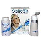 Salitair salt inhaler PLUS 1 extra bottle of salt - Natural salt therapy for asthma and allergies