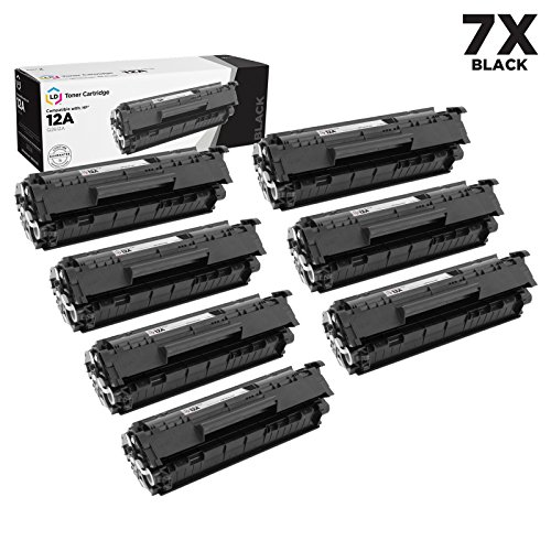 LD © Compatible Replacements for HP Q2612A / 12A Set of 7...