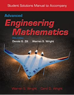 Amazon advanced engineering mathematics 9781449691721 student solutions manual to accompany advanced engineering mathematics fandeluxe Gallery