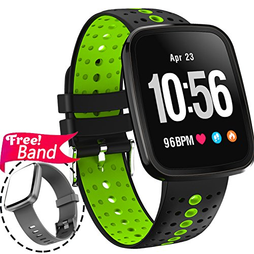 "Cheap 1.3"" Sport Fitness Tracker Smart Watch Heart Rate Monitor Blood Pressure for Women Men IP67 Waterproof Removable Smart Band Pedometer Activity Tracker Watch Health Monitor Summer Swim Run IOS Android"