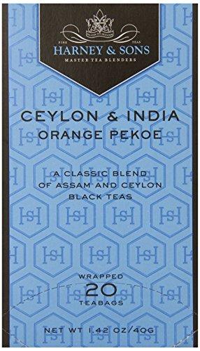 - Harney & Sons Black Tea, Orange Pekoe, 20 Tea Bags