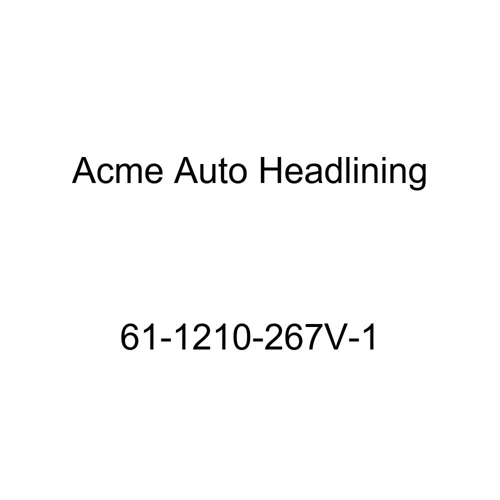 Acme Auto Headlining 61-1210-267V-1 Ivory Replacement Headliner 1961 Oldsmobile Dynamic 2 Door Holiday Hardtop 4 Bow