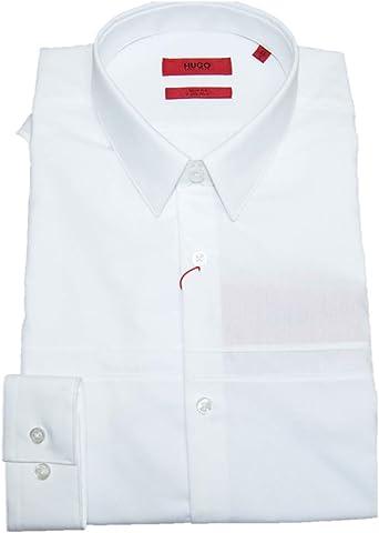 Hugo Slim-Fit KAM - Camisa de algodón fácil de planchar ...