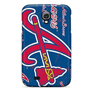 New Atlanta Braves Tpu Case Cover, Anti-scratch RGwens Phone Case For Galaxy S4