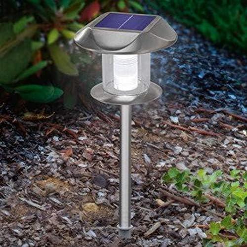 BUVTEC 2er Set Solarleuchte 'Sunnylight', Duo Color Steckleuchte warm-/kaltweiß umschaltbar 160102093 esotec