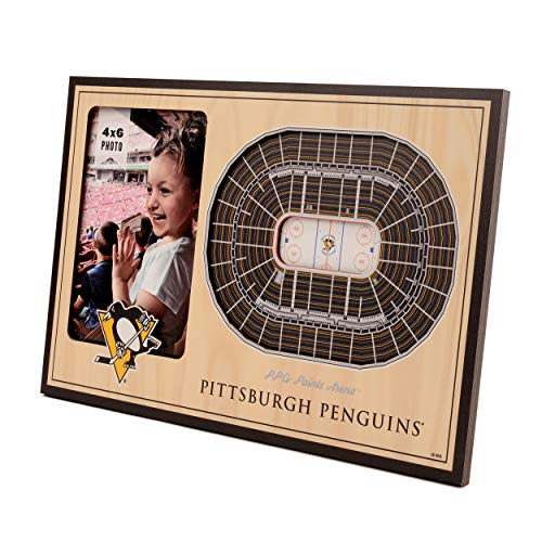 (NHL Pittsburgh Penguins 3D StadiumViews Picture Frame)