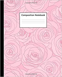 Composition Notebook: Cute College Ruled Notebook for School
