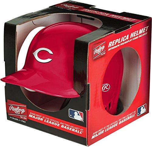 Field Cincinnati Reds Mlb Baseball (MLB Cincinnati Reds Mini Replica Helmet, Red)