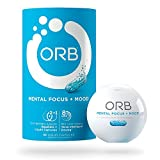 ORB MENTAL FOCUS + MOOD - Brain Nootropic Complex + Fish Oil | Clarity and Concentration Support, Calm and Mental State Support, Alertness and Focus Support - 30 count