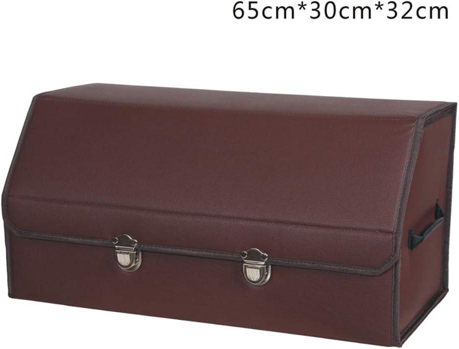 AXWT Caja de Almacenamiento de Color marrón Caja de almacenaje de ...