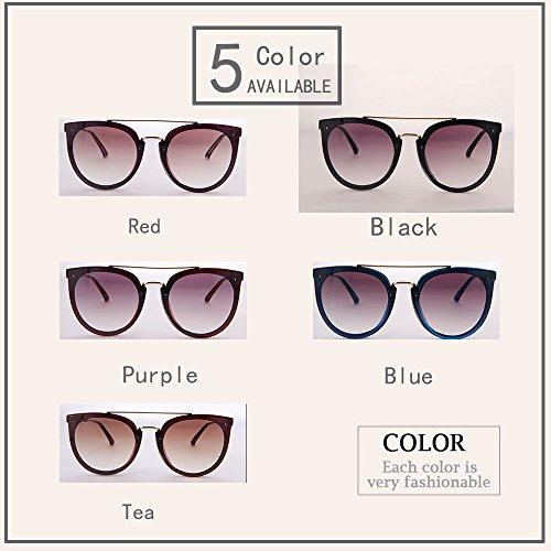 Gafas sexy para Tea no UV400 UV Ogobvck protección polarizada de gafas sol mujer SAqWTwTXd