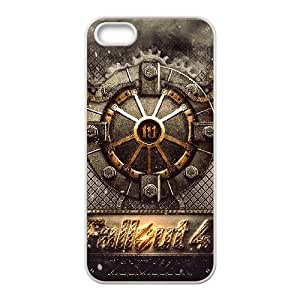 Fallout 4 Logo Iphone 5 5S Cell Phone Case White JNCC434C