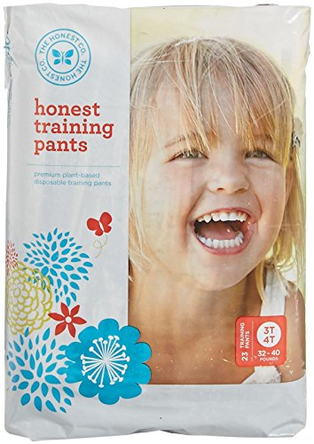 The Honest Company Training Pants - 3T-4T - 23 ct